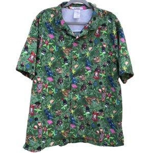 Disney's Polynesian Resort Aloha Shirt For Men